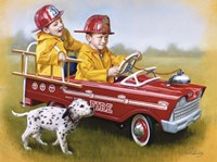 1959 Murray Fire Truck Fine-Art Print
