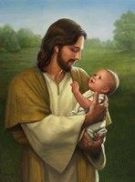 Jesus And Baby Fine-Art Print