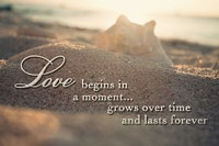 Love Begins in a Moment Fine-Art Print