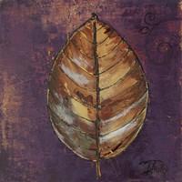 New Leaves I (Purple) Fine-Art Print