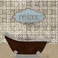 Relax - Tub Fine-Art Print