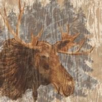 Lodge Moose Fine-Art Print
