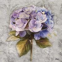 Lavender Flourish Square I Fine-Art Print