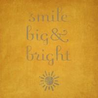 Smile Big & Bright Fine-Art Print