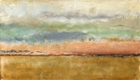 Sunset In The Cornfield Fine-Art Print