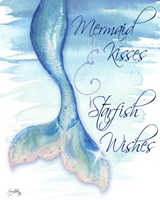 Mermaid Tail I (kisses and wishes) Fine-Art Print