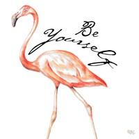 Be Different Flamingo II Fine-Art Print