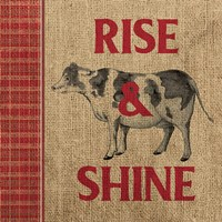 Rise & Shine Farm Fresh II Fine-Art Print