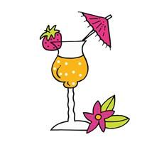 Tropical Drinks III Fine-Art Print