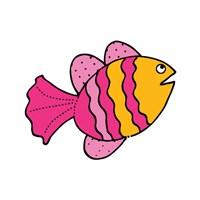 Whimsical Sea Creatures I Fine-Art Print