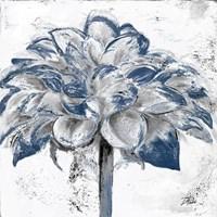Navy Blue Dahlia Fine-Art Print
