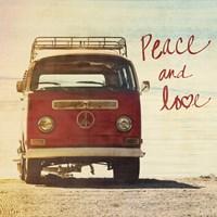 Peace and Love Fine-Art Print
