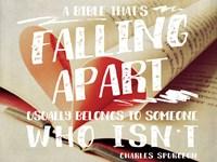 Falling Apart Bible Fine-Art Print