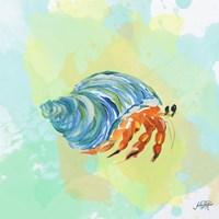 Watercolor Sea Creatures II Fine-Art Print