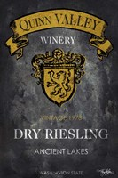 Still Life Wine Label IV Fine-Art Print