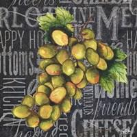 Wine Grapes I Fine-Art Print
