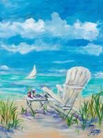 Beach Lounging Fine-Art Print