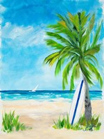 Tropical Surf I Fine-Art Print