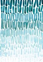 Watercolor Raindrops Fine-Art Print