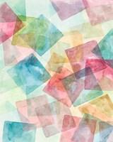 Merging Shapes I Fine-Art Print