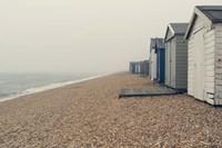 Beach Cabanas Fine-Art Print