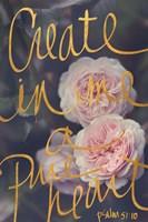 Create In Me A Pure Heart Fine-Art Print