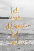 Let Your Dreams Set Sail Fine-Art Print