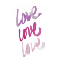 Love Times 3 Fine-Art Print
