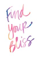 Find Your Bliss Fine-Art Print