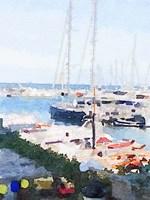 Watercolor Naples Fine-Art Print