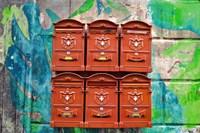 City Mail Boxes Fine-Art Print