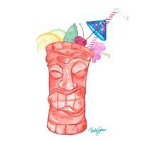 Tiki Bar Tonics I Fine-Art Print