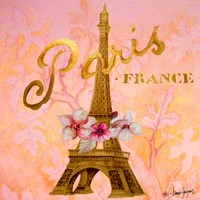 Gold Paris Eiffel Fine-Art Print