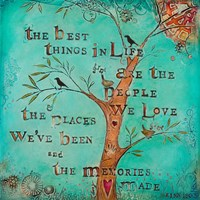 The Best Things in Life Fine-Art Print