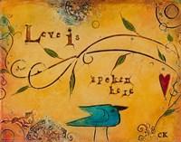 Love is Spoken Here Fine-Art Print