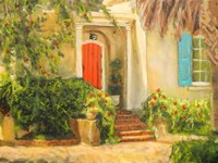 Front Garden Tuscan Dreams I Fine-Art Print
