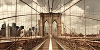 Brooklyn Bridge (sepia) Fine-Art Print