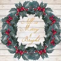 All Is Merry & Bright Fine-Art Print