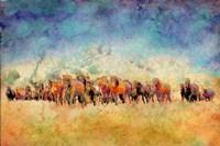 Horse Herd Fine-Art Print
