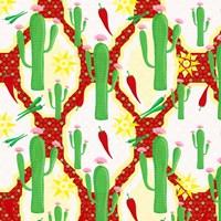 Chili Fiesta Pattern II Fine-Art Print