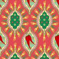 Chili Fiesta Pattern IV Fine-Art Print