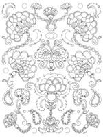 Floral Chain I Fine-Art Print