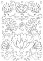 Floral Chain II Fine-Art Print