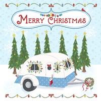 Camper Christmas Fine-Art Print