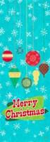 Merry Christmas Ornaments Fine-Art Print