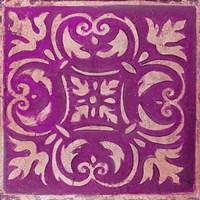 Purple Mosaic Fine-Art Print