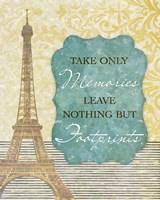 Take Only Memories Fine-Art Print