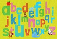 Alphabet of Colors II Fine-Art Print