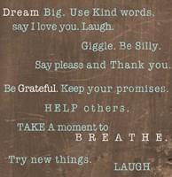 Encouraging Words Fine-Art Print