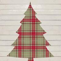 Plaid Christmas II Fine-Art Print